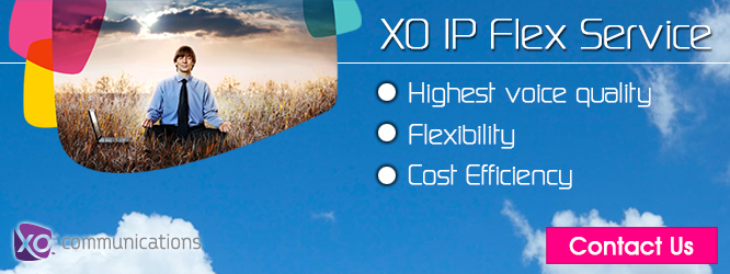 XO IP Flex Service is VoIP solution that simplifies your communications