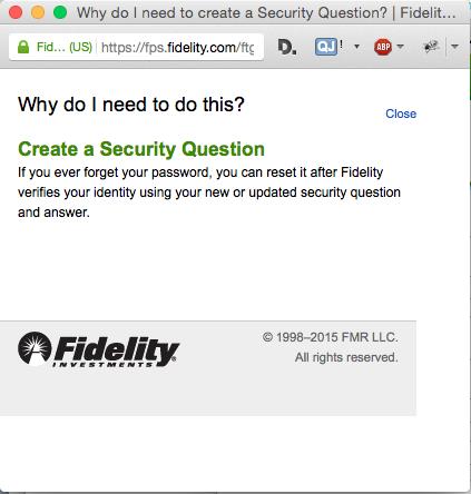 Fidelity: why?